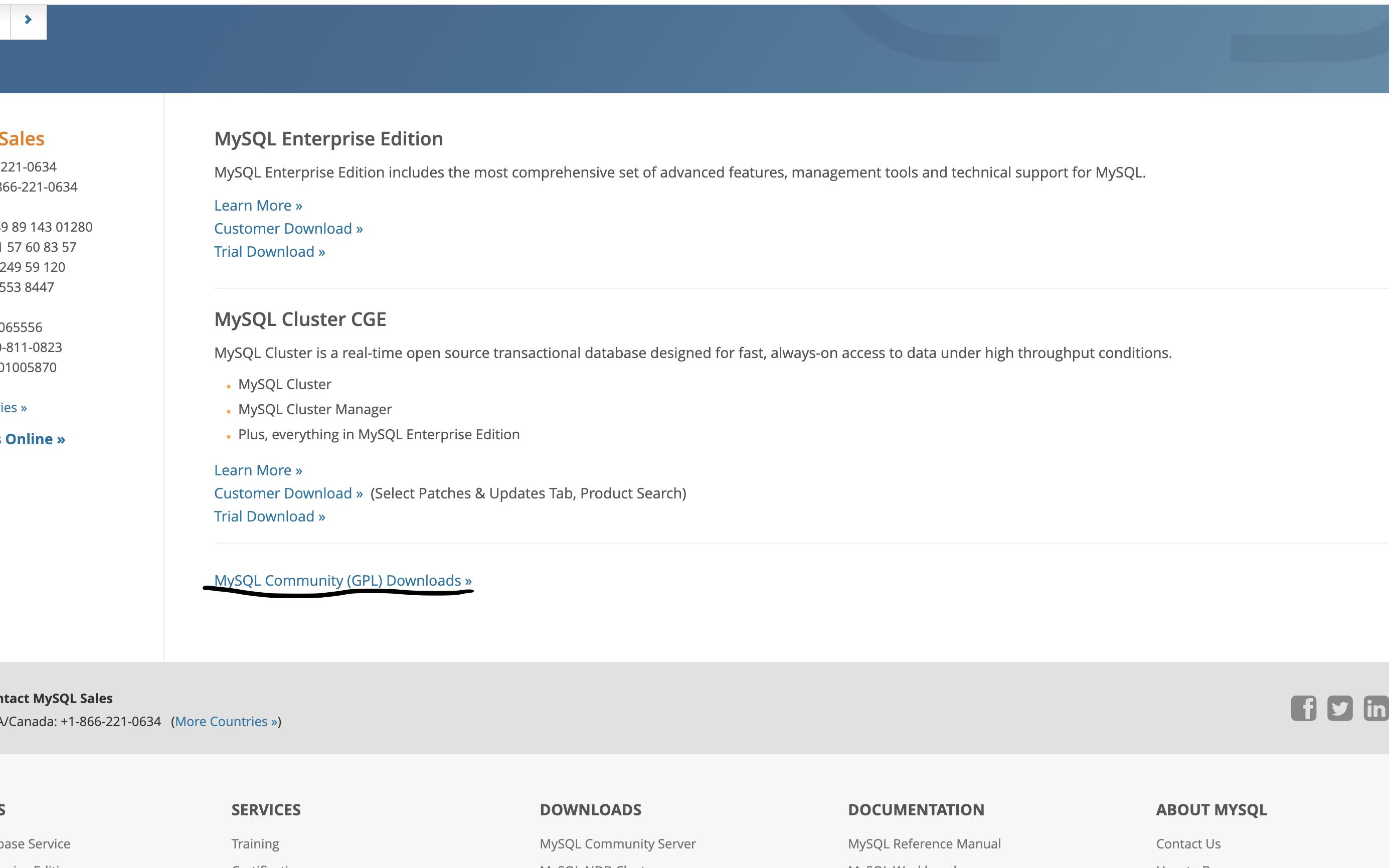 MySQL Community Server download