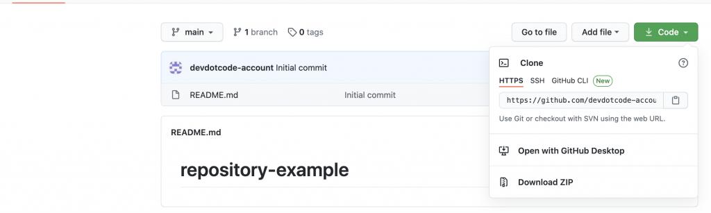 clone a GitHub repository